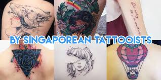 coolest tattoo artists in singapore