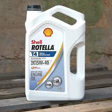 Shell Rotella T4 Triple Protection Diesel Engine Oil
