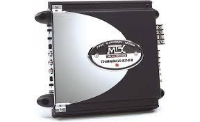 mtx thunder4244 45w x 4 car amplifier at crutchfield com mtx thunder4244 front