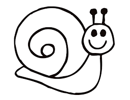 Small Picture Printable Snail coloring page from FreshColoring Art Templates