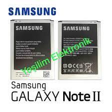 Samsung Galaxy Note 2 N7100 Batarya Pil Orijinal Fiyatları ve Özellikleri