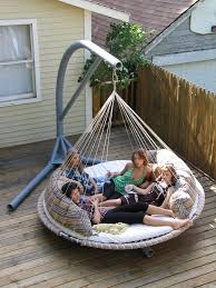diy hammock swing chair stand