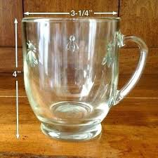 la rochere bee glass la bee glass coffee mug la rochere bee glassware canada