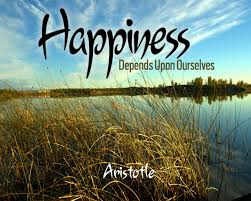 decide happiness is the meaning of life