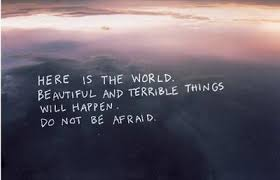 Quotes About The World Being Beautiful Best Of Scary World Via Facebook On We Heart It