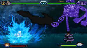 Fourth Raikage VS Sasuke Uchiha - Bleach Vs Naruto 3.3 (Modded)