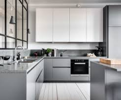 modern gray kitchen cabinets beat monotony with style modern grey and white kitchens o38 white