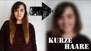 Lea Testet Kurzhaarschnitt Haare Selber Schneiden Hd Youtube Kurzhaarschnitt Selber Schneiden