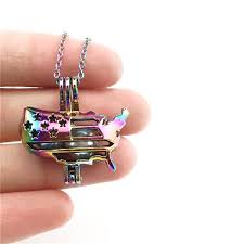 details about c449 multi color american flag map beads cage charms stainless steel necklace
