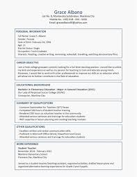 Sample Of High School Resume Best Of How To Write A Resume For