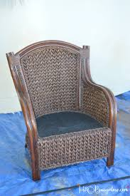 How To Paint Wicker Furniture Quickly and Easily H20Bungalow