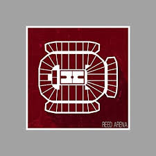 Reed Arena Seating Chart Amazon Com Reed Arena College Basketball Seating Charts