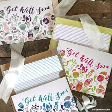 Get Well Soon Cards Printables Printable Get Well Soon Cards Lia Griffith