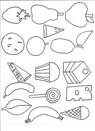 Small Picture Coloring Pages Hungry Caterpillar Coloring Page Very Pages Hungry
