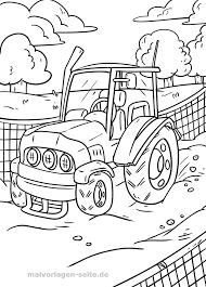 Kleurplaat Tractor Gratis Kleurpaginas Om Te Downloaden