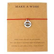 autism awareness puzzle adjule bracelets diabetic type 1 charms women men boys s uni fashion jewelry