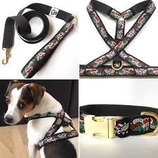 Dog Harness Pattern Awesome Tattoo Dog Harness Skulls And Hearts Piratetattoo Pattern Design