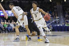 Notre Dame Basketball Depth Chart Noie No Decision Young Guys Have To Play For Notre Dame
