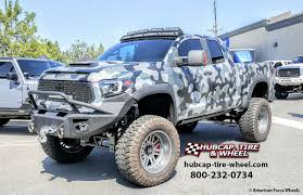 American Force Alpha SF8 22″ Rims – 2015 Toyota Tundra Double Cab  