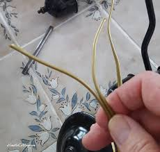 hometocottage com new wire fed through split