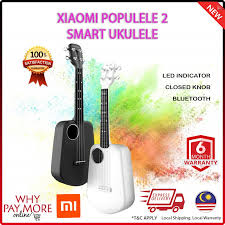 <b>Xiaomi Mi Populele 2</b> LED <b>Smart</b> Soprano Ukulele Concert ...