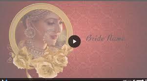 how to create wedding invitation video