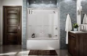 Fiberglass One Piece Tub Shower 60 One Piece Tub Shower Whirlpool One Piece Fiberglass Tub Shower Combo
