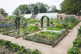 Small Picture Kitchen garden at an Old Vicarage Period Living