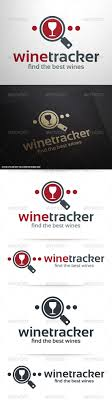 Wine Tracker Wine Tracker Logo Template By Liveatthebbq Graphicriver