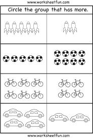 Famous Number Preschool Kindergarten Worksheets Tracing Free Best ...