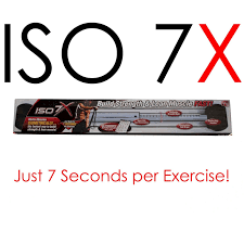Details About Iso 7x Deluxe Edition 7 Second Workout Revolution Isometric Exercise Health