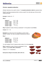 Repeated Subtraction Worksheets Free Worksheets Library | Download ...