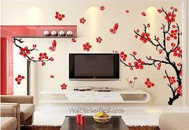 cherry blossom tree wall stickers