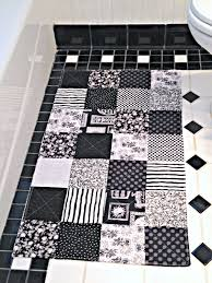 black and grey bathroom rugs john robshaw charmhome quatrefoil black and white bathroom rug patchwork bath mat shower mat laundry room rug