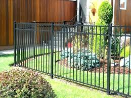 image of how to make a corrugated steel fence
