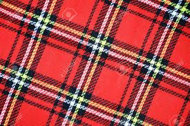 Rode Schotse Geruite Materiële Het Patroonachtergrond Van De Geruite