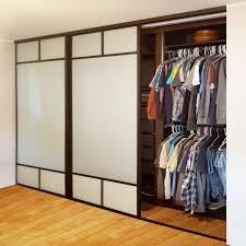 frosted glass creative sliding doors