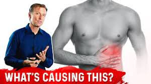 left side abdominal pain under ribs