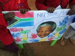 Small Picture Tiny tots at Nelson Mandela Childrens Fund party protest against