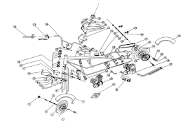 service schematics gas and electric scooters two cycle four cycle kazuma atv 50 parts · 110 engine 110 vs 50 starter