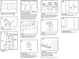 bypass closet doors then instructions in wonderful sliding