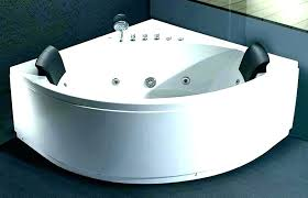 decoration 2 person tub shower combo bath tubs amazing jetted two jacuzzi bathtubs