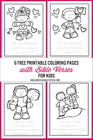Free Bible Verse Coloring Pages Bible Crafts And Activities