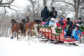 Lindenwood Park Fargo Christmas Lights Christmas In North Dakota Fargo Moorhead Area Sleigh Rides