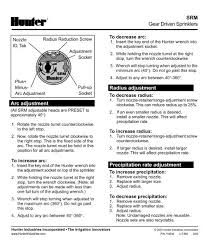 Lit380 Srm Instruction Sheet Pdf Diamond Head Sprinkler Supply