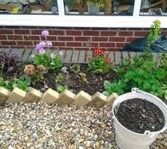 garden borders and edging. Concrete Garden Border Edging Cheap Attractive Masonry Gardening Landscape Yard Borders And