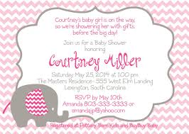 Baby Shower Invitation Ideas For Girl Awesome Baby Shower