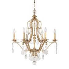 6 light chandelier with crystals included enlarge blakely