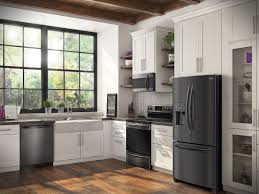 ... Frigidaire Gallery kitchen appliances. See them at RC Willey.  https://www.rcwilley.com/Appliances/Search.jsp?q=Black%20Stainless%20Steel&m=FRG