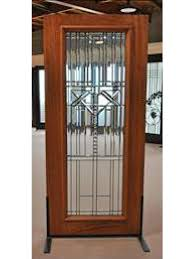 decorative beveled glass entry door triple glazed glass option by aaw exterior